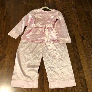 American girl pink size 14-16 pjs